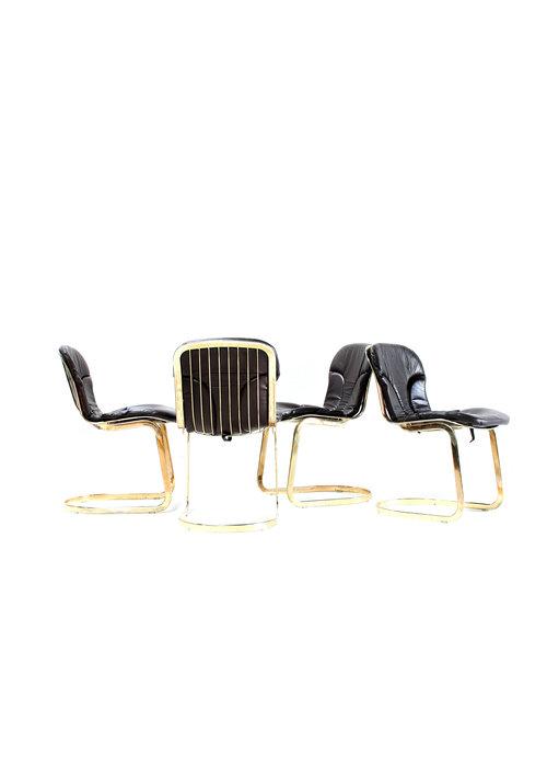 Set van 4 design stoelen