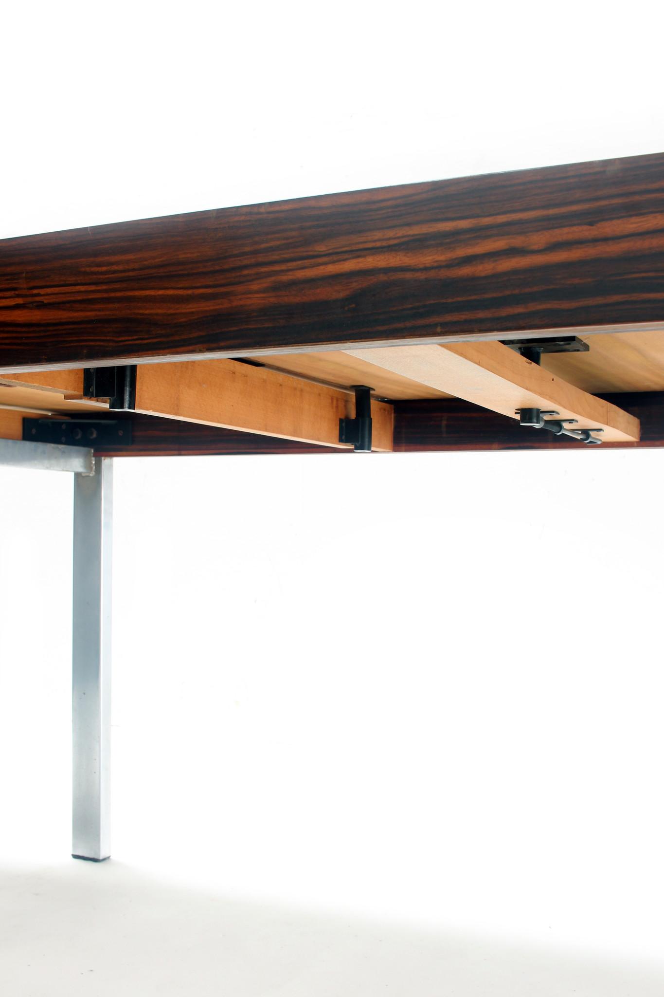 Design De Coene eettafel palissander