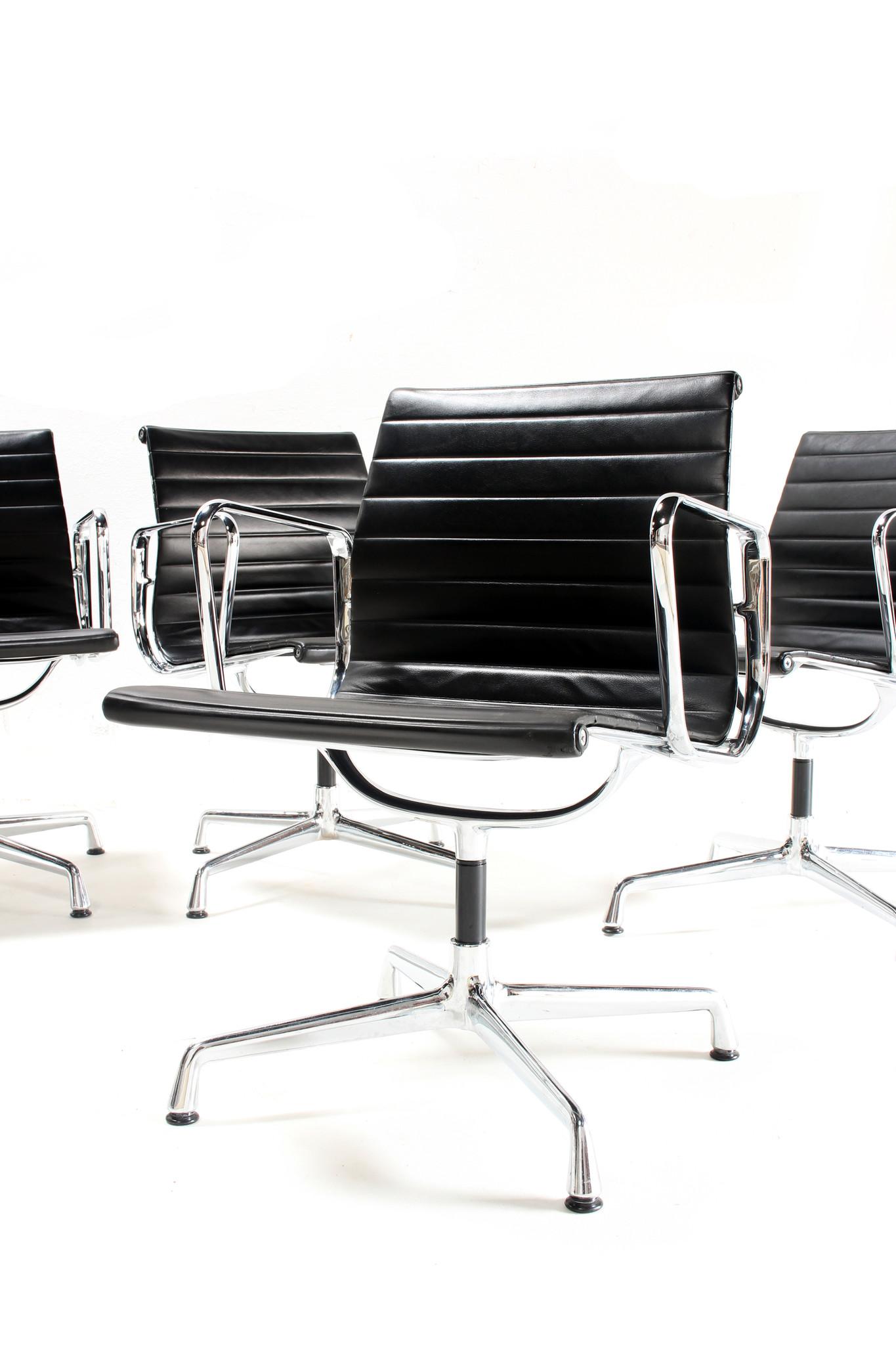 Charles Eames seats EA104 leather