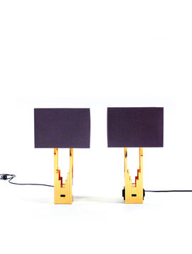 F. Fabbian table lamps