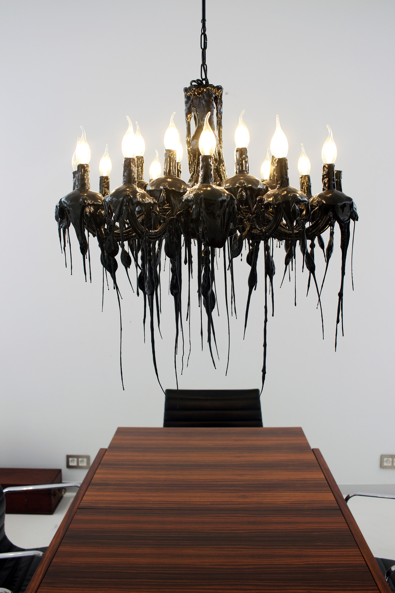 "Piet Boon ""Hot Kroon"" chandelier by Maretti"