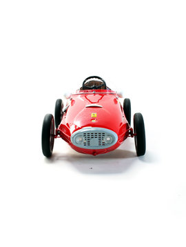 Ferrari pedal car Giordani