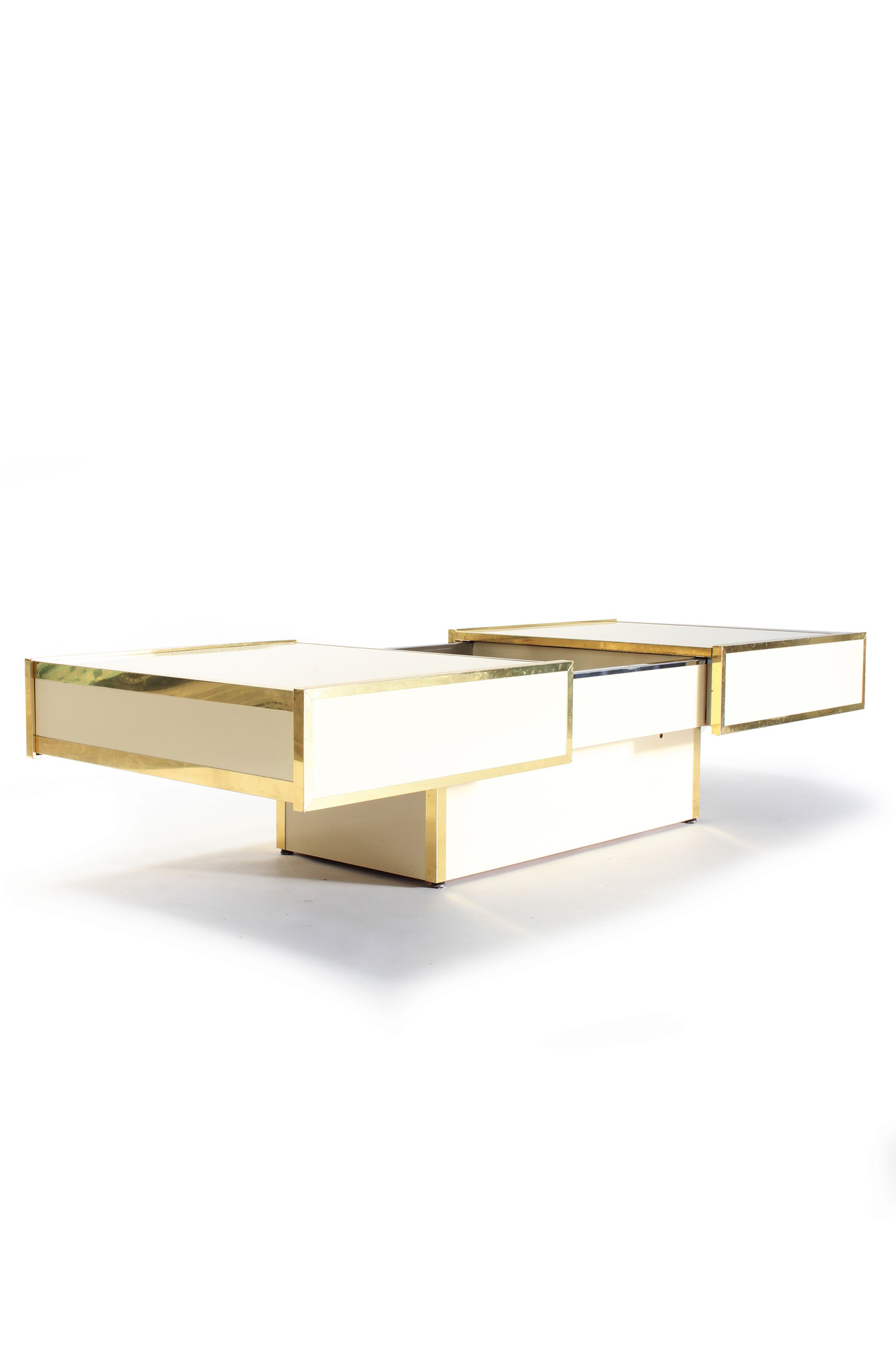 Willy Rizzo coffee table with bar
