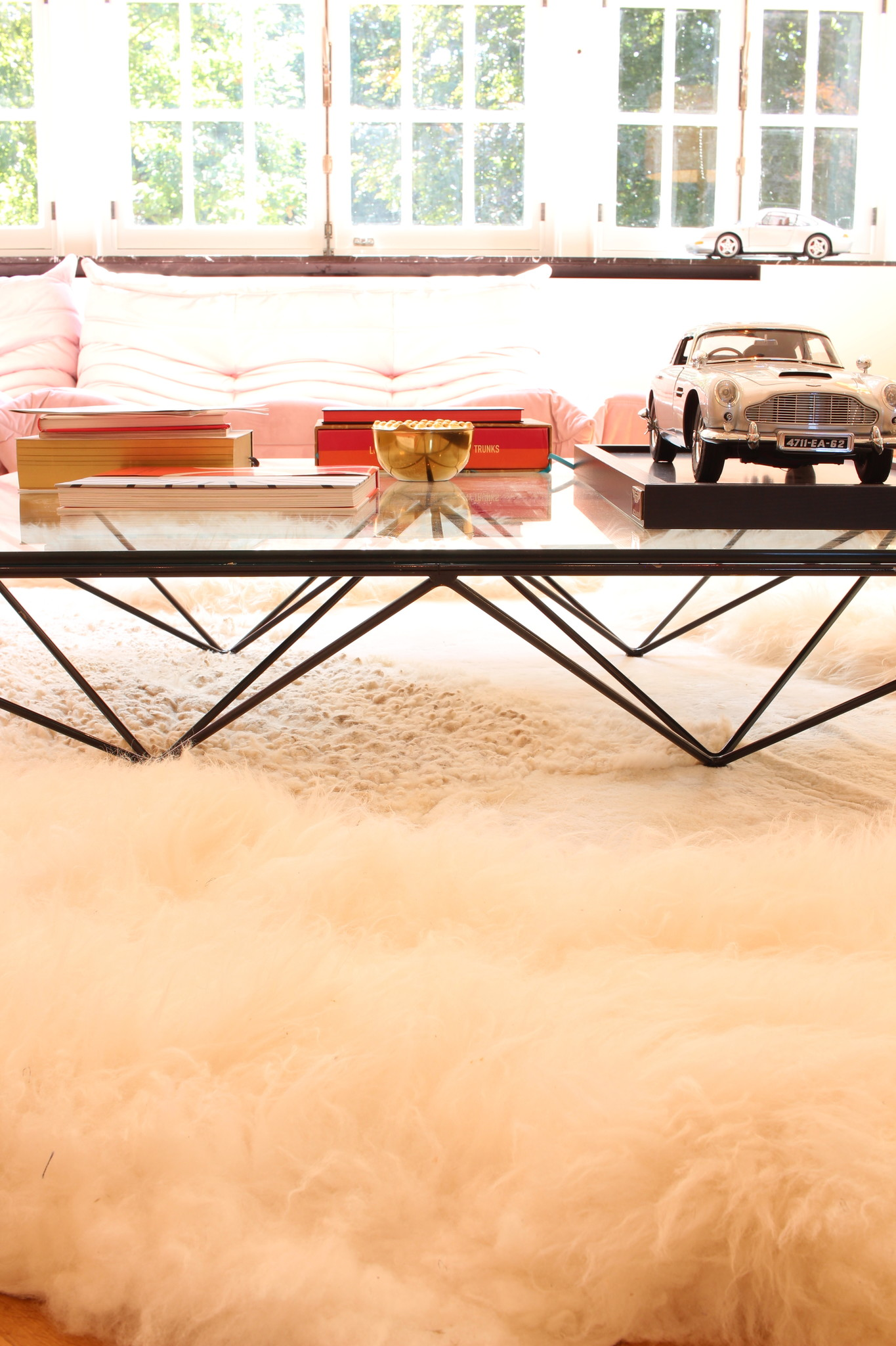B&B coffee table, Alanda 1980's