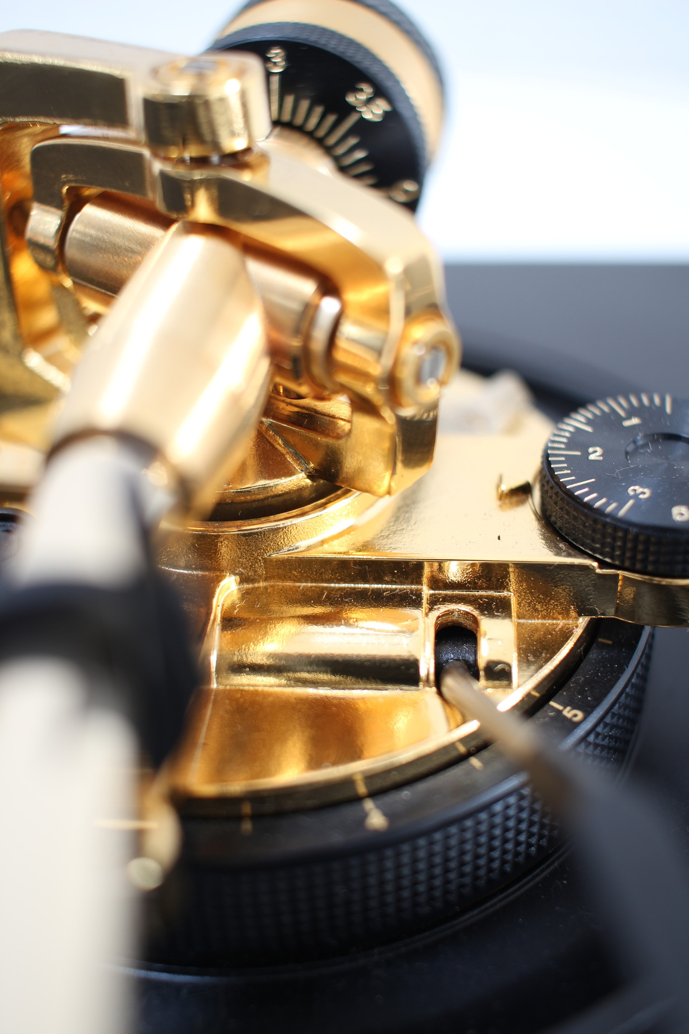 Technics SL1200 LTD set Limited edition goud