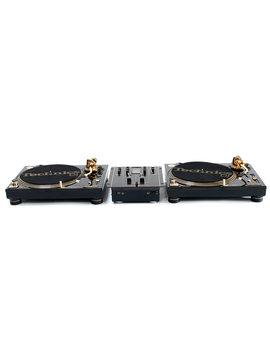 Technics set Limited edition gold