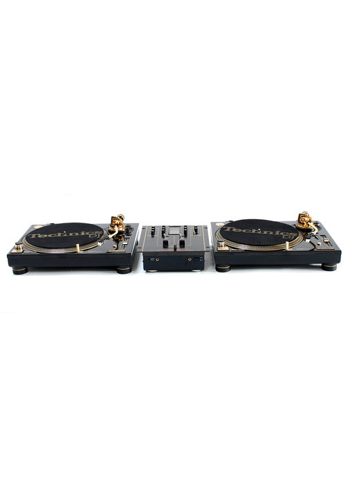 Technics set Limited edition gold