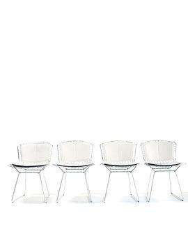 Set of Bertoia side chairs