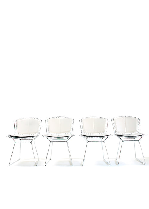Set of Bertoia side chairs