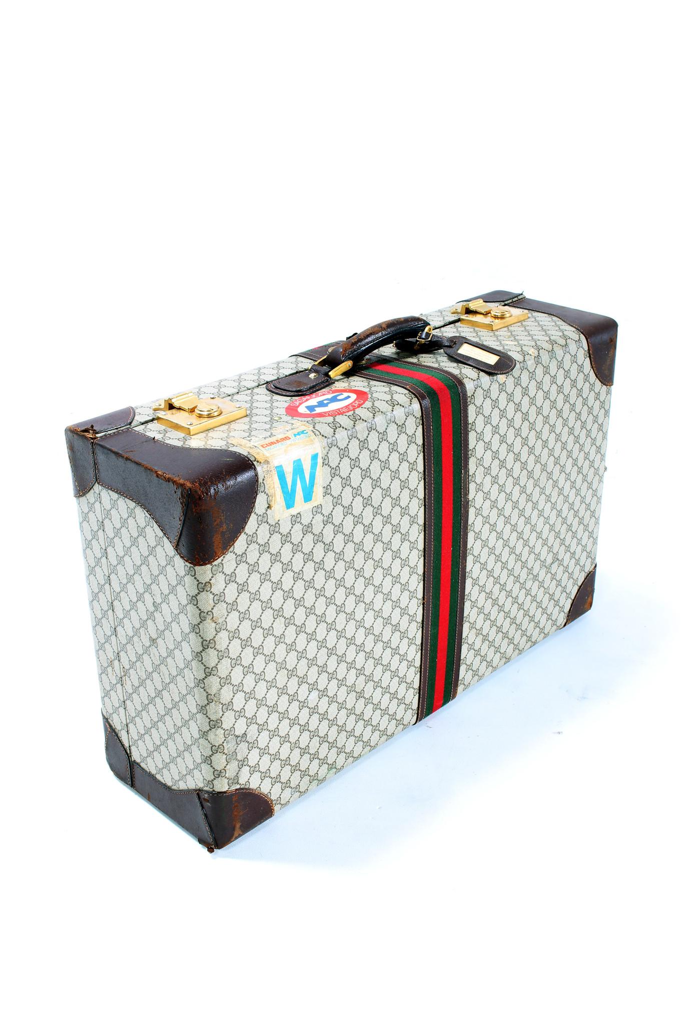 Gucci travel case, 1980