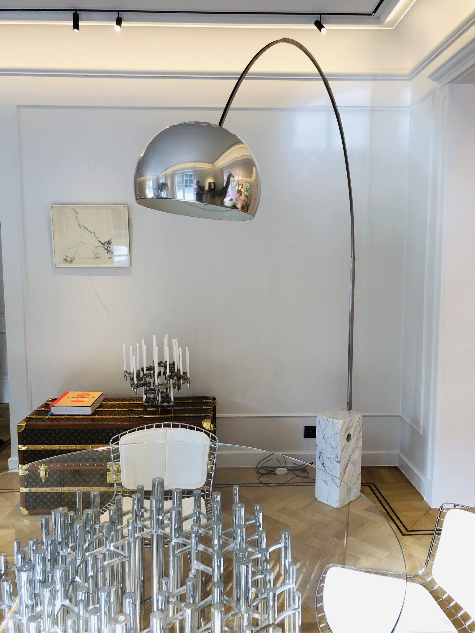 Vintage Flos Arco arc lamp