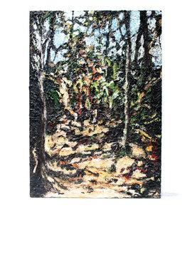 Frank van Hiel painting