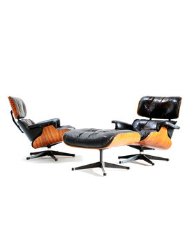 Charles eames Lounge set