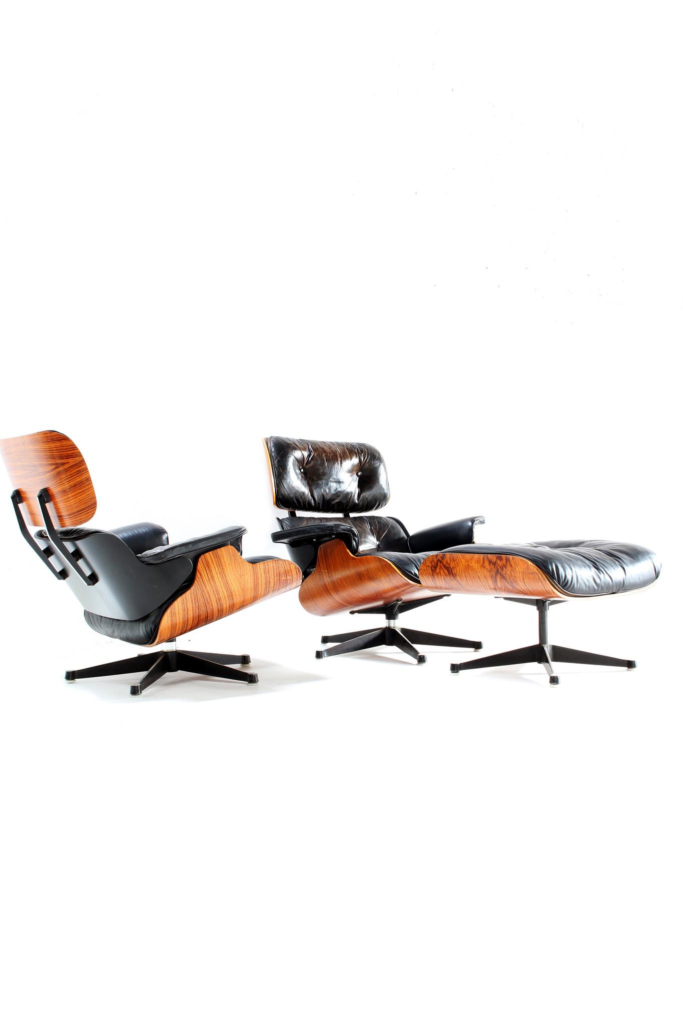 Charles eames Lounge set