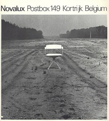 Rudi Verelst eetkamerset voor Novalux, 1970