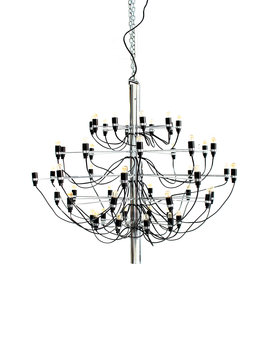 XL Flos Sarfatti chandelier, 1958