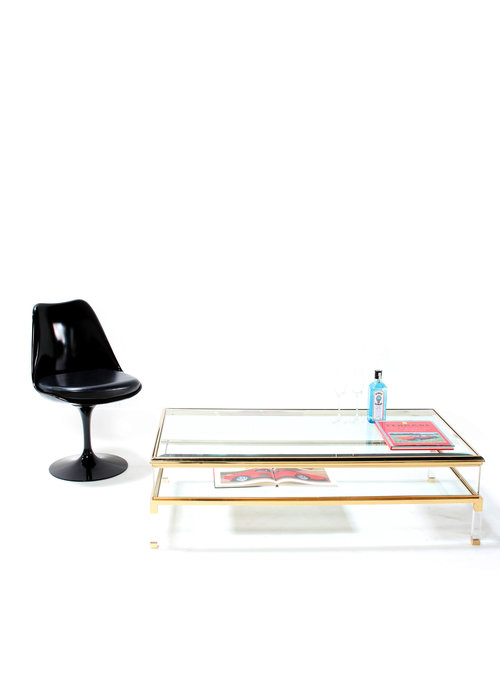 Vintage sliding salontafel