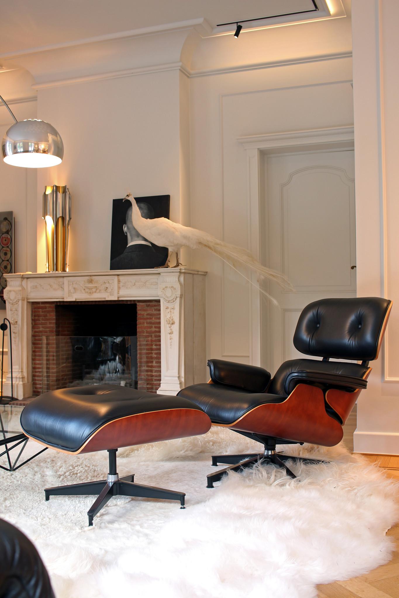 Charles Eames Lounge Chair voor herman Miller