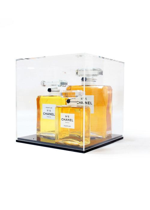 Chanel bottle box