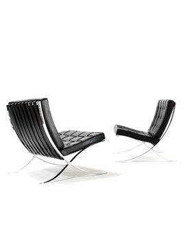 Knoll Barcelona chairs