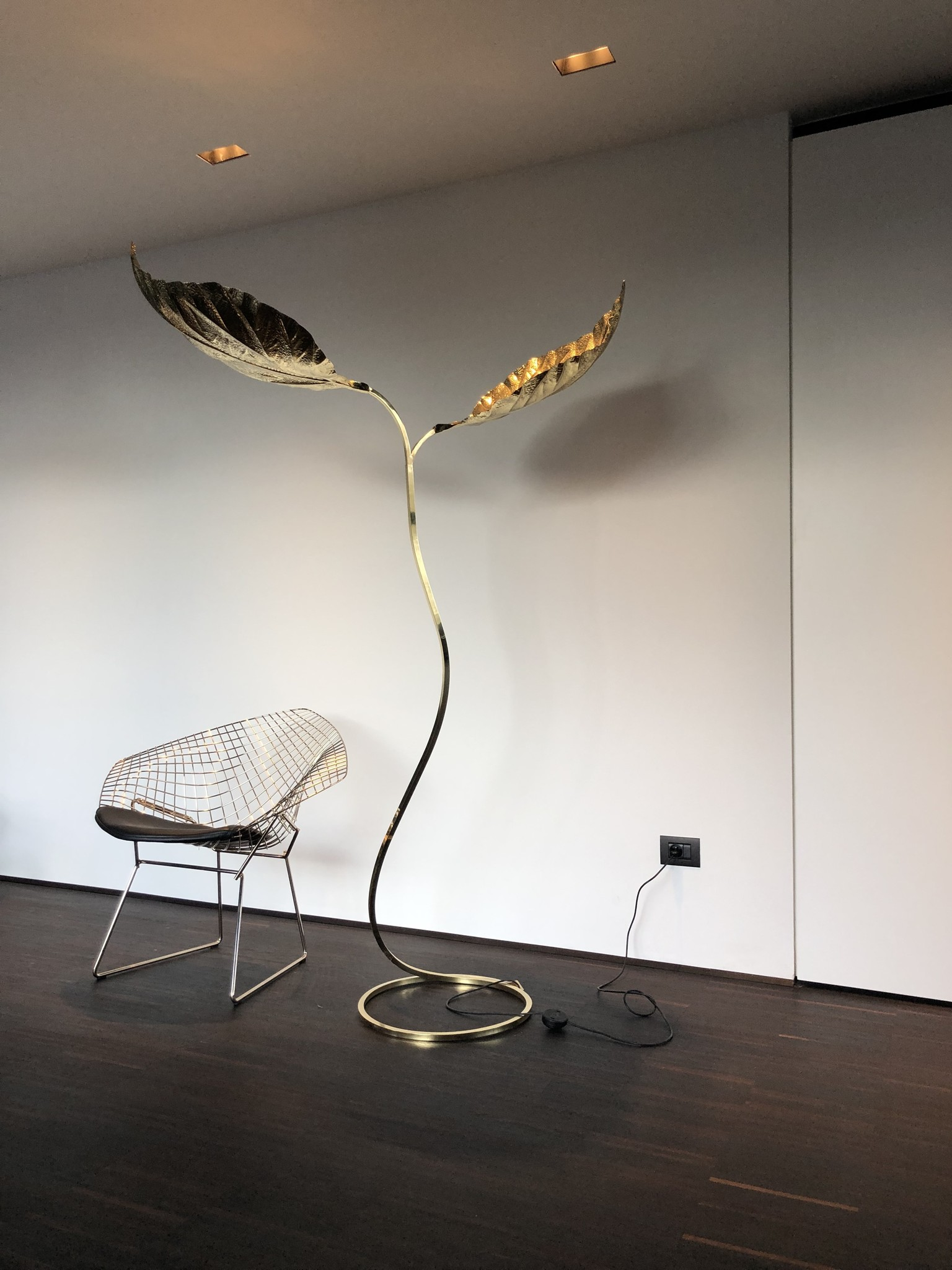 Tommaso Barbi vloerlamp, 1970s