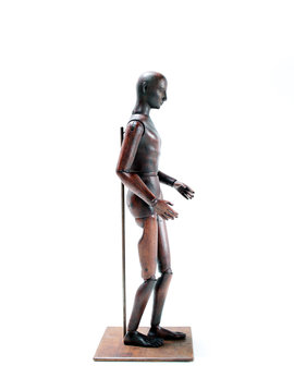 Lay figure 19th century