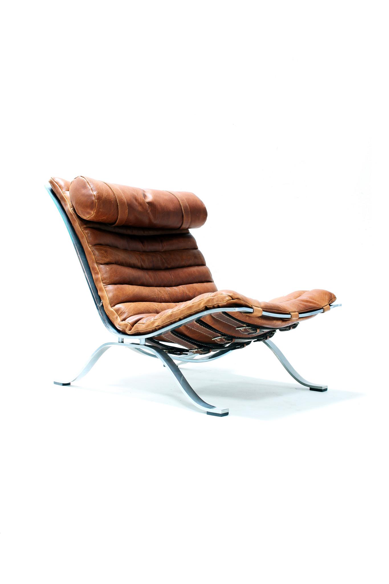 Ari chair Cognac leder