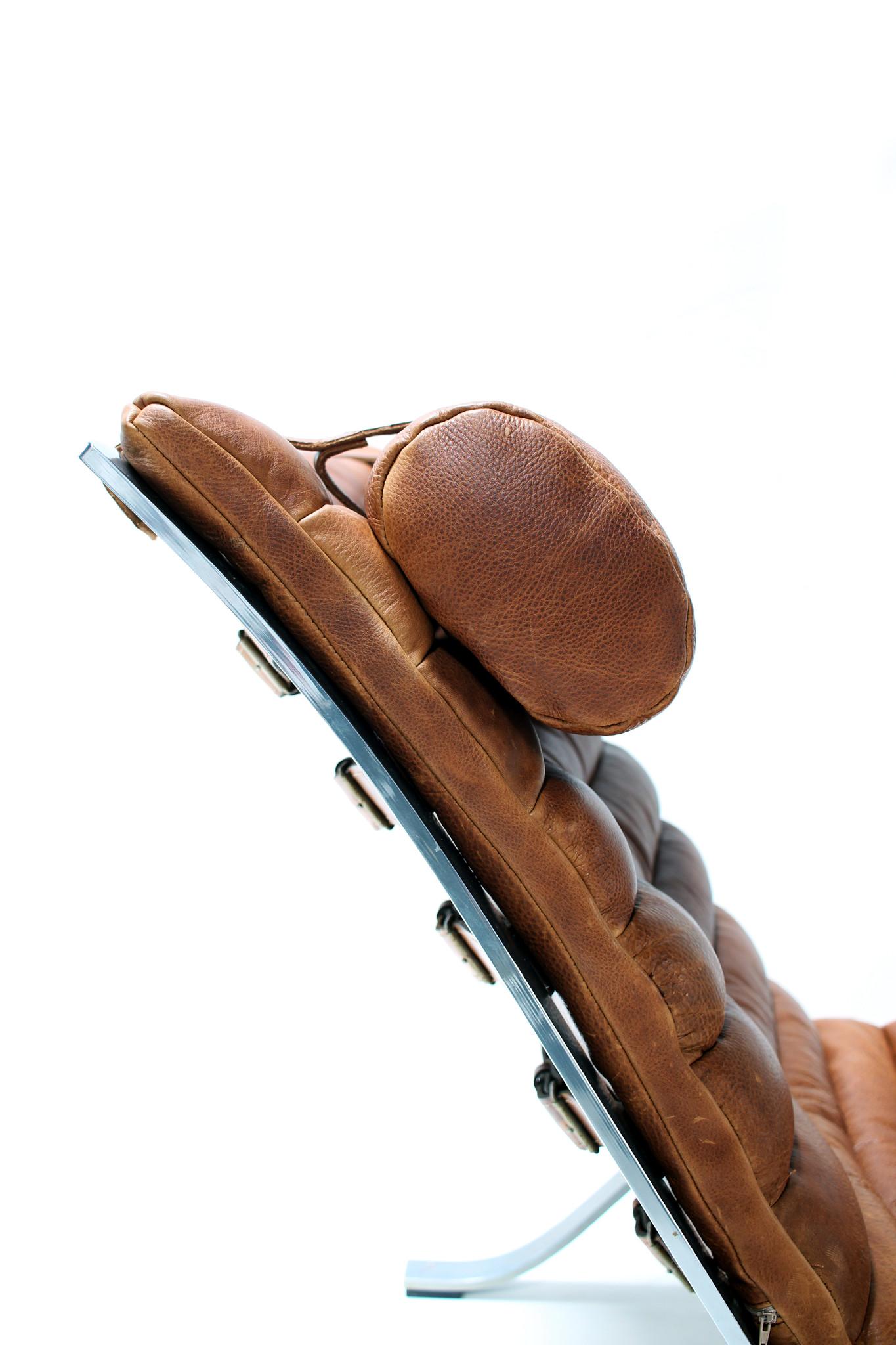 Ari chair Cognac leather
