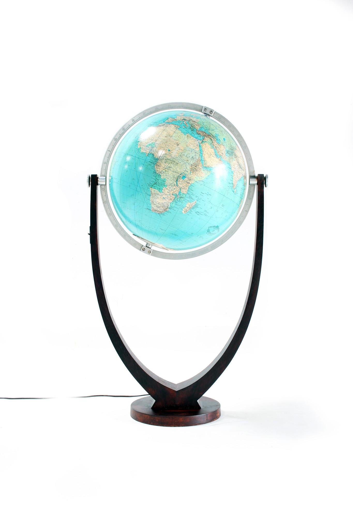 Columbus Globe designed by Paul Oestergaard, 1950s