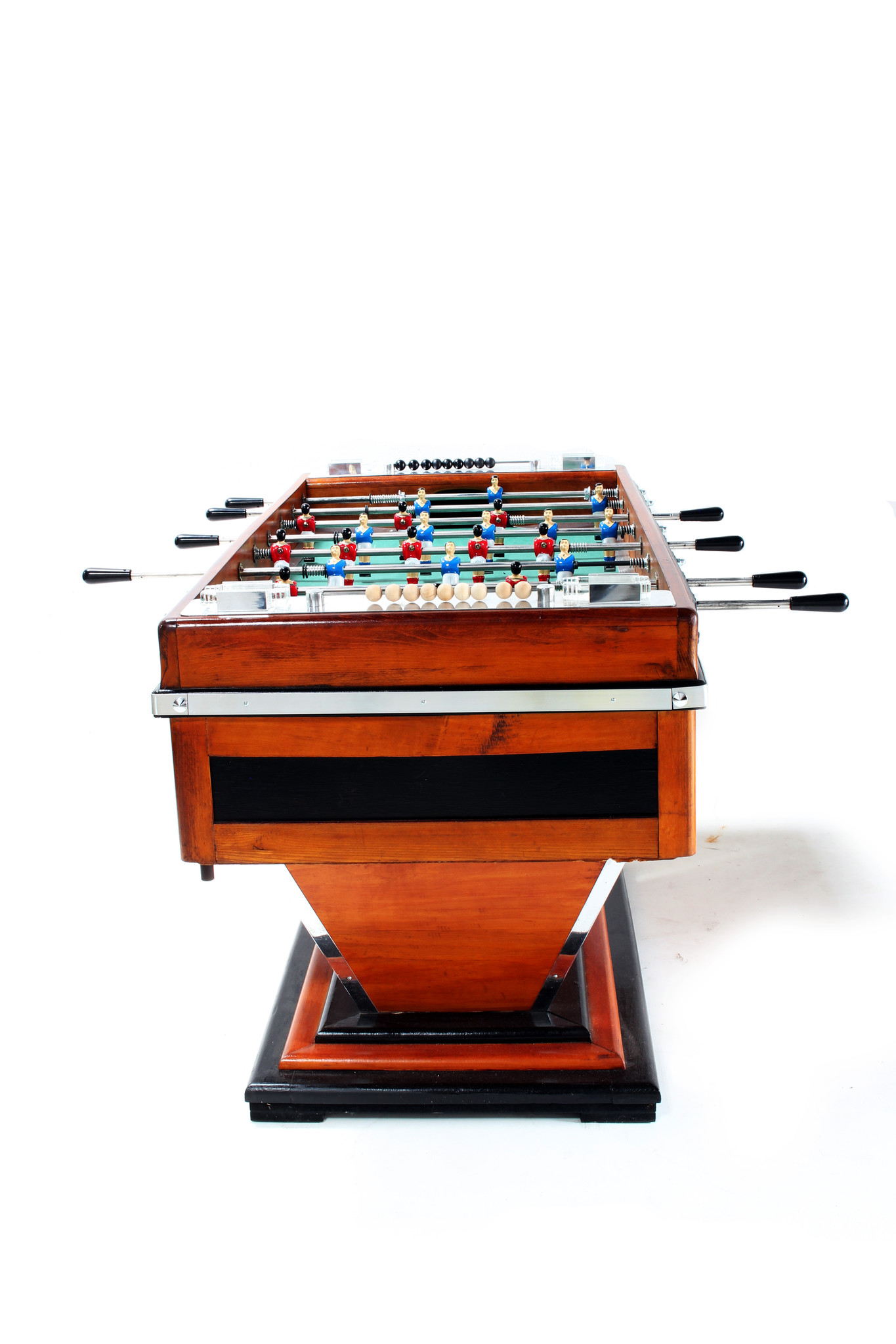 Vintage table football game 1940's