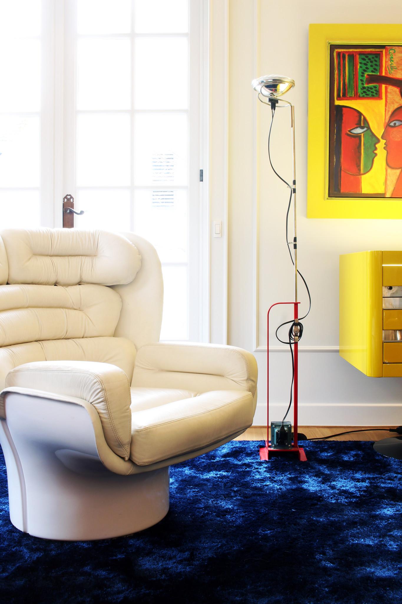 Toio floor lamp by Achille & Pier Giacomo Castiglioni