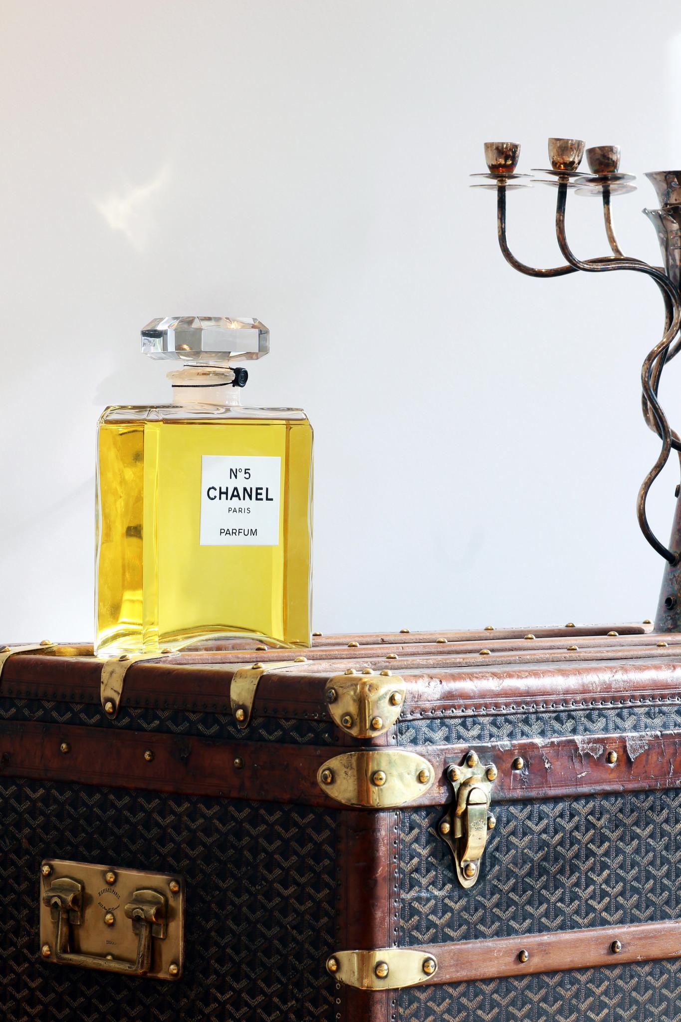 De Chanel N°5 XXL falcon
