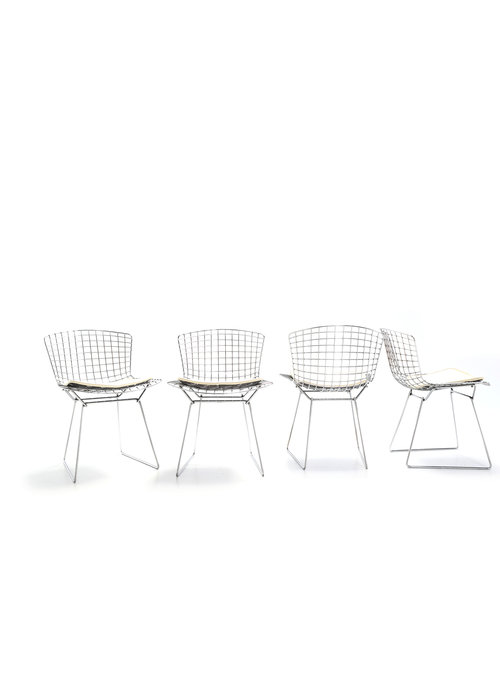 Set Bertoia side chairs
