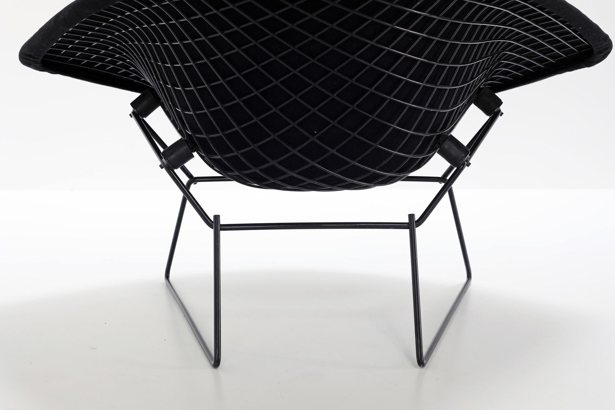 Diamond large Chair van Harry Bertoia voor Knoll
