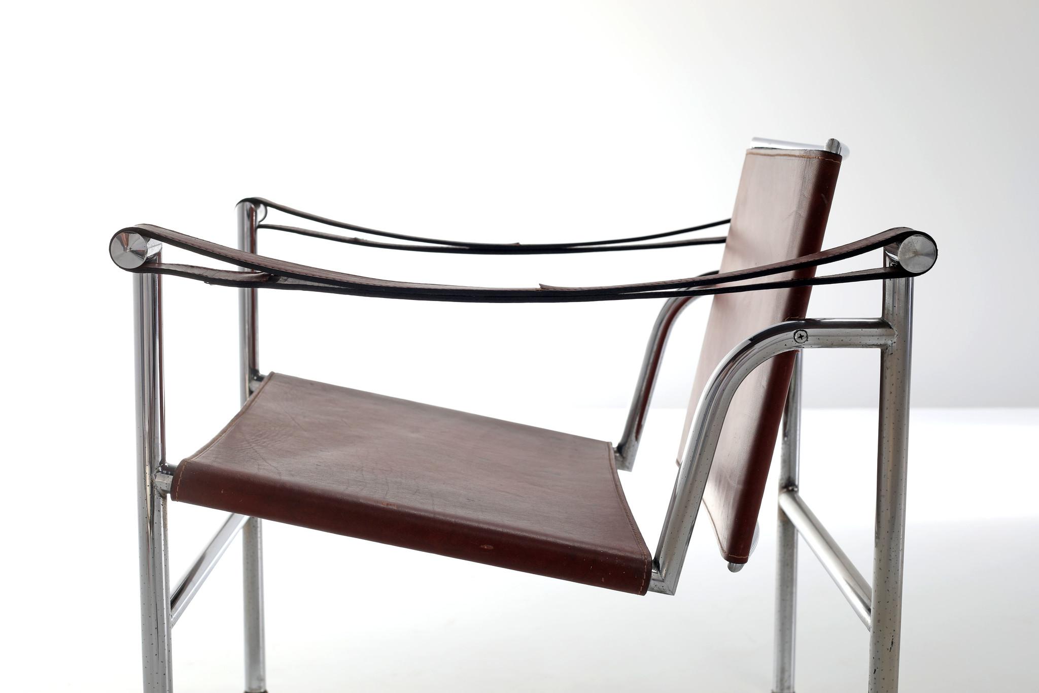 Vintage Lc1 Corbusier voor Cassina, 1970s