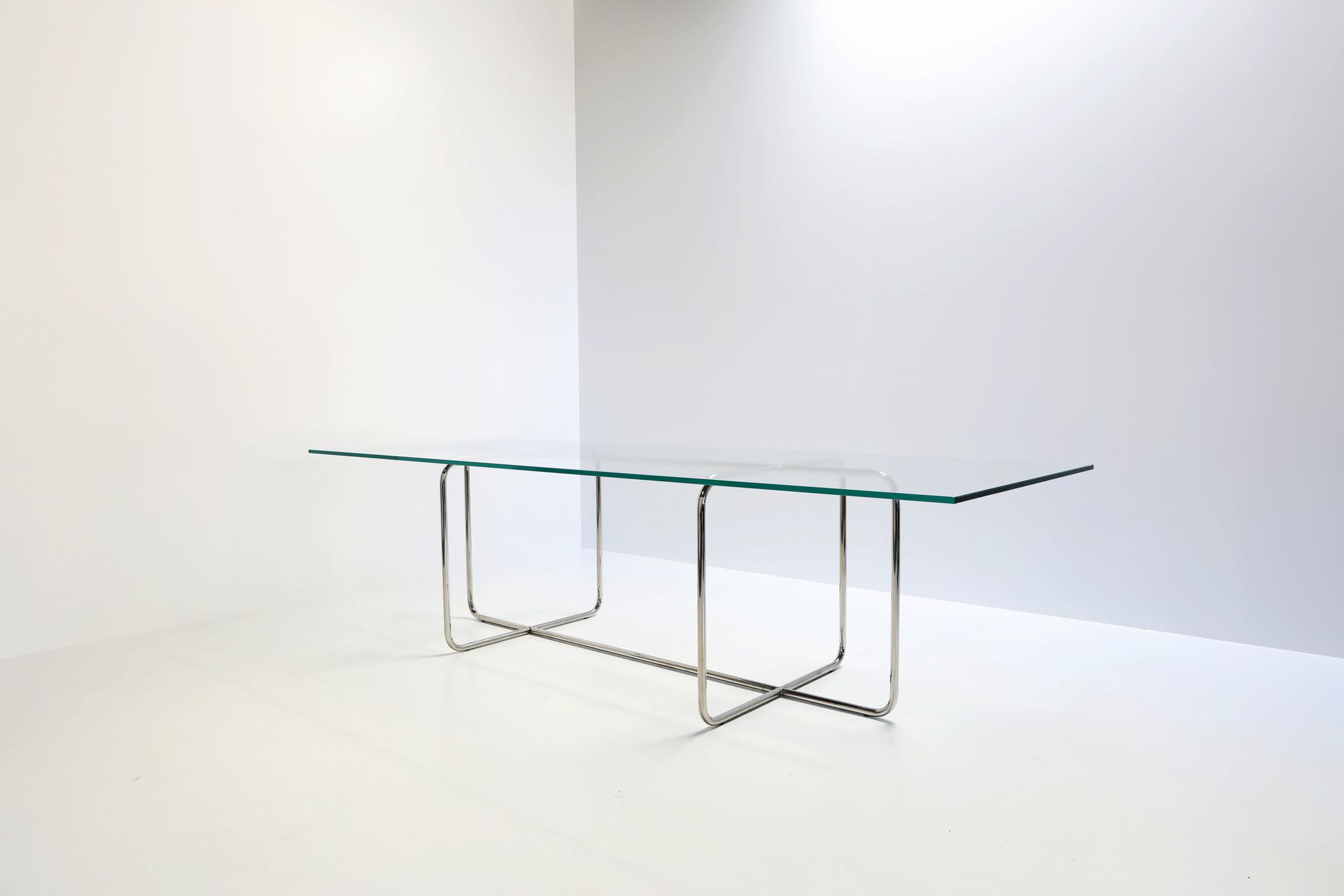 Filippo Dell'Orto table chrome