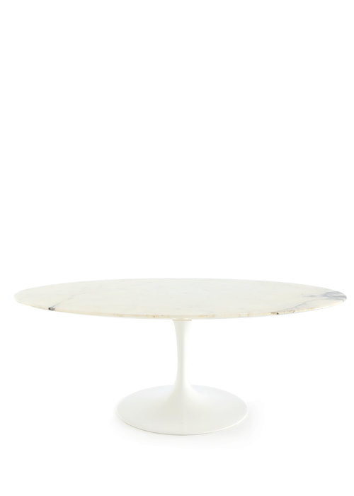 Knoll oval coffee table