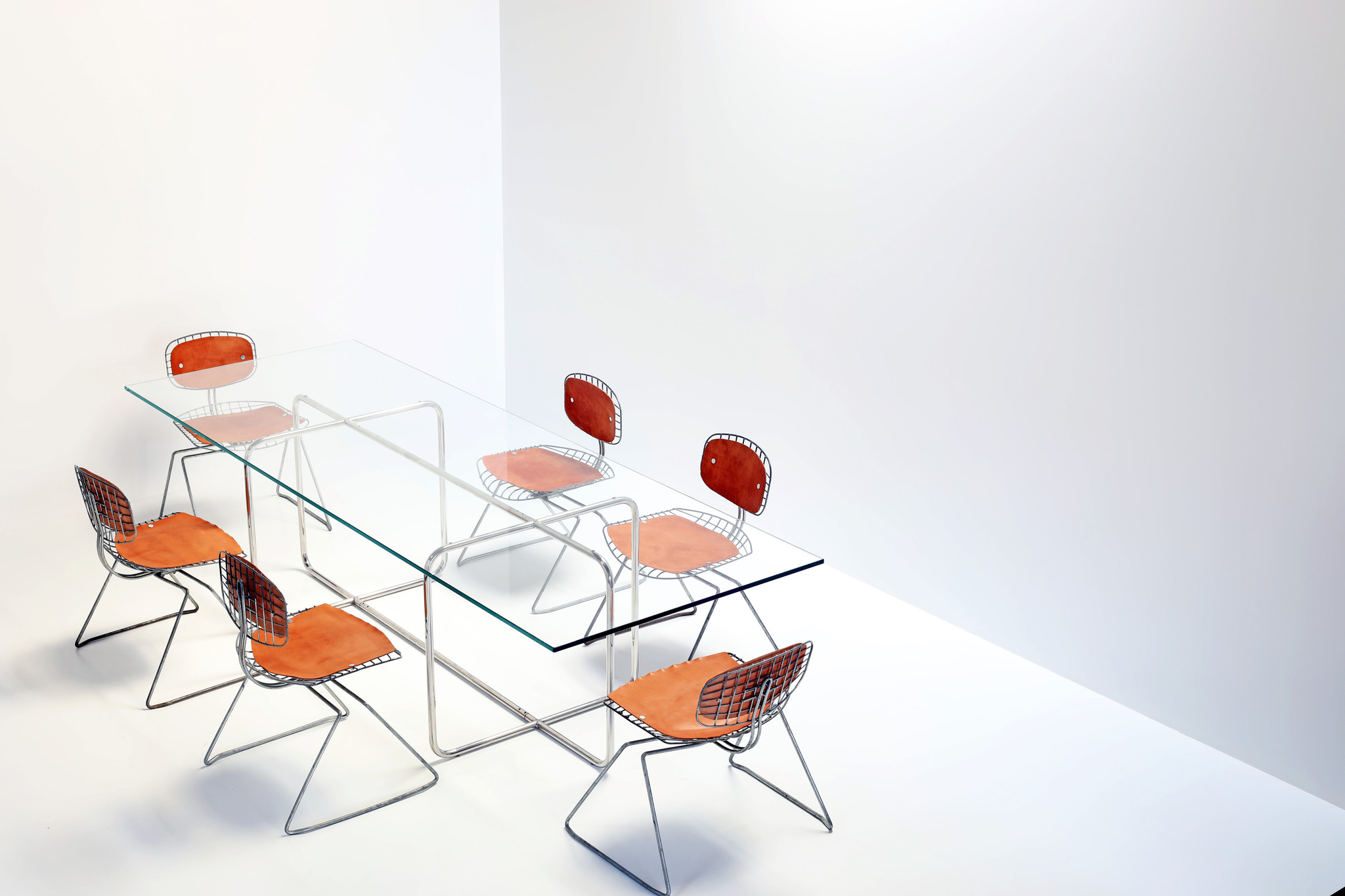 Centre Pompidou Sleigh chairs, 1976