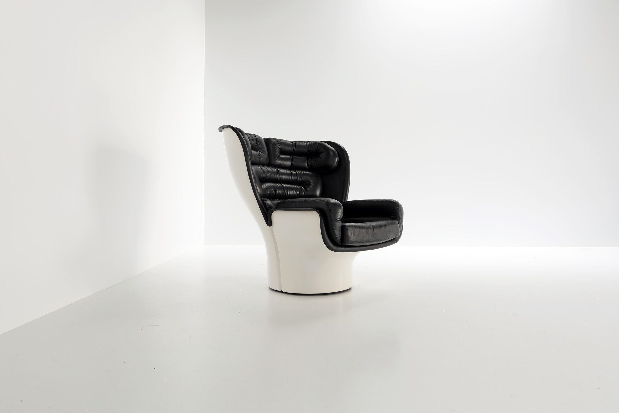 Elda Chair by Joe Colombo for 1960's comfort