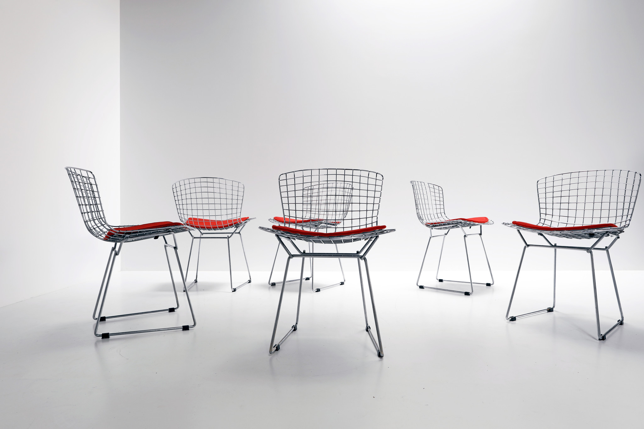 Set Bertoia Chairs by Harry Bertoia for Knoll, 1953
