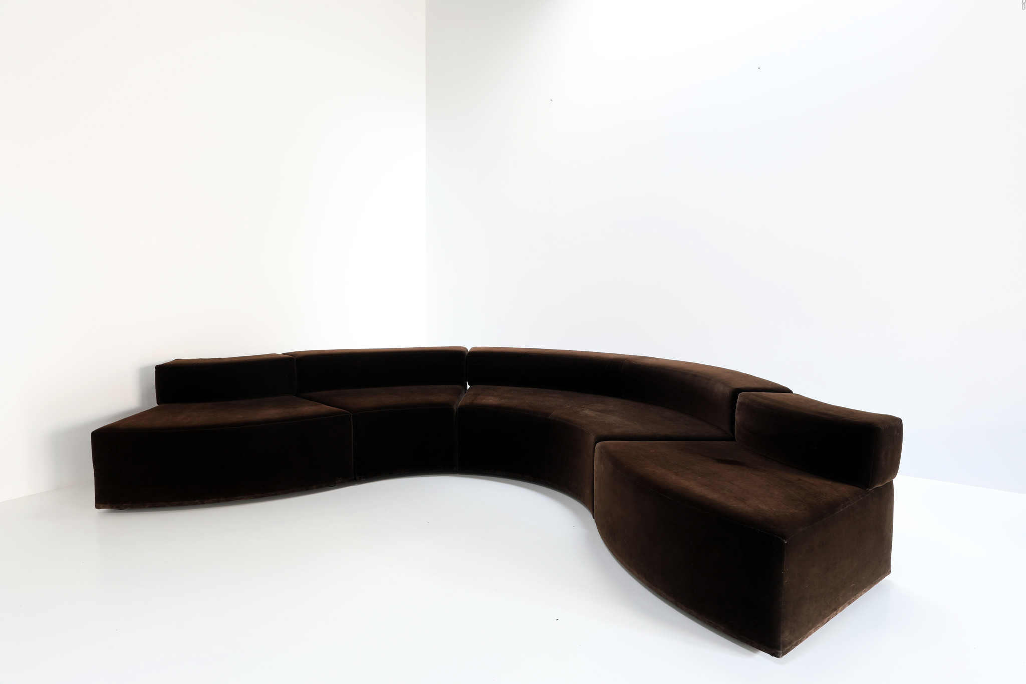 """Dune"" sofa designed by Ferrucio Laviani for Emmemobili"