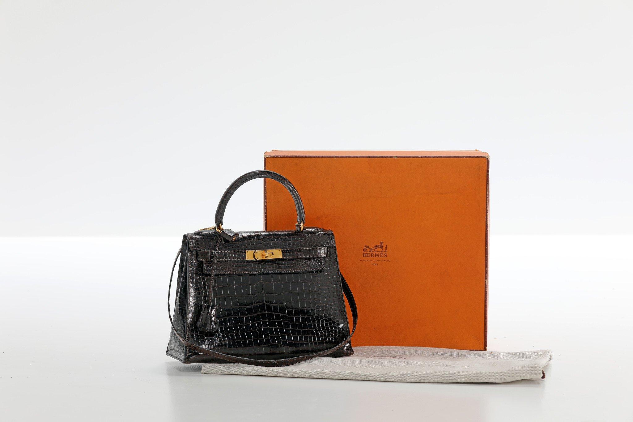 """Vintage Hermès """"kelly"""" handtas, 1975"""