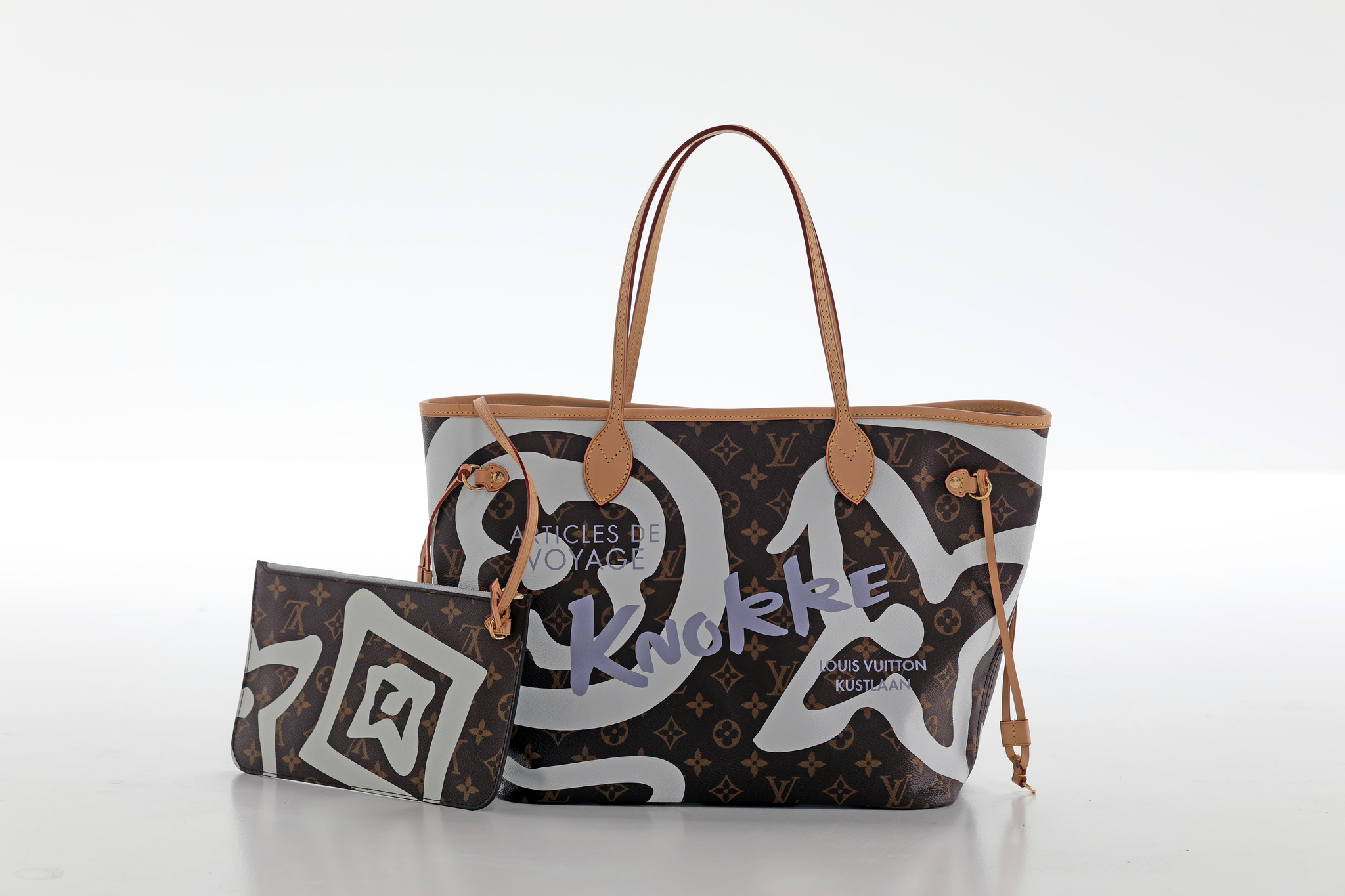"""Louis Vuitton limited edition Neverfull """"Knokke"""""""