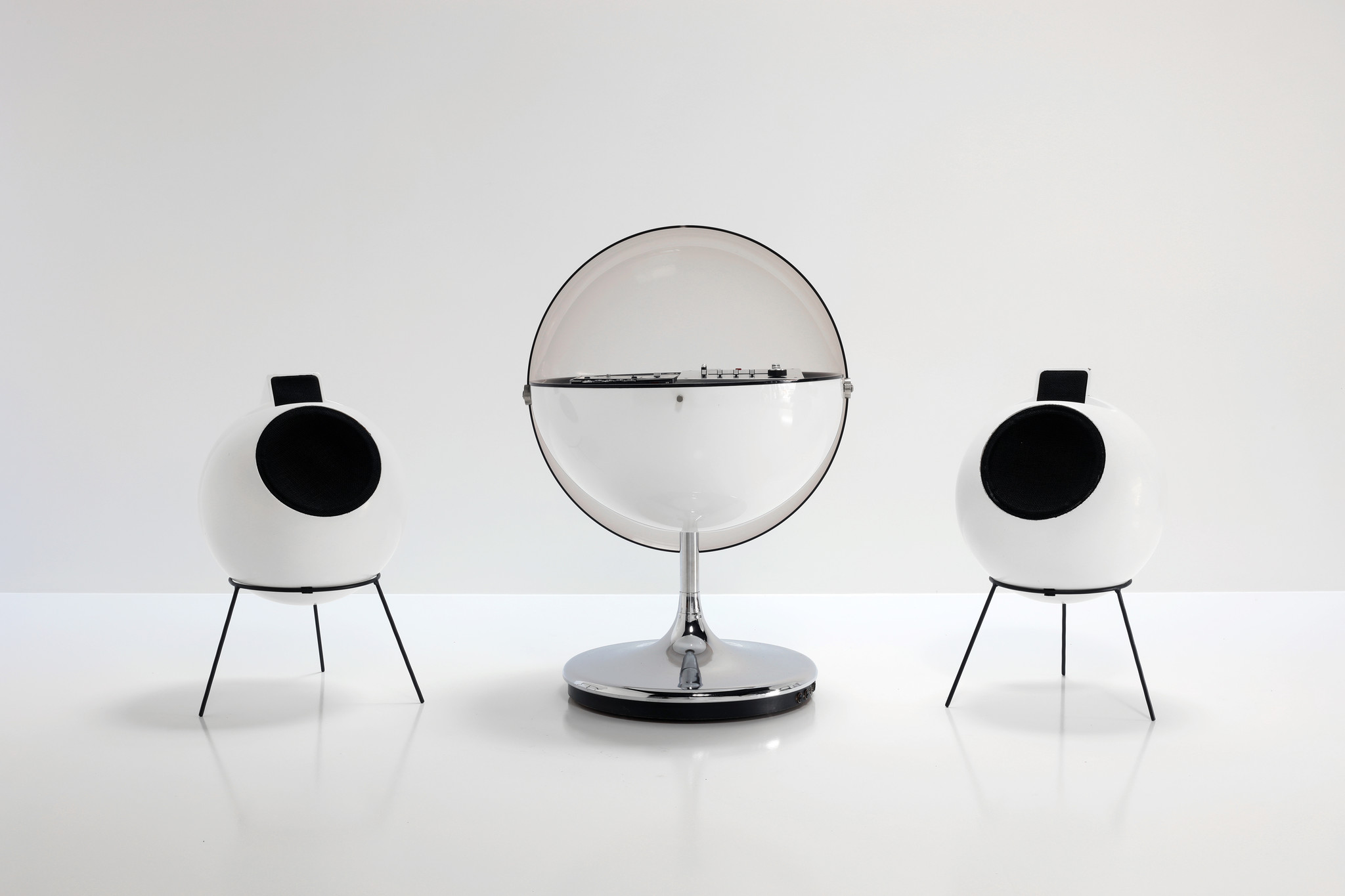ICONIC PHILIPS VISION 2000 'ROSITA' STEREO SYSTEM BY THILO OERKE, 1970'S