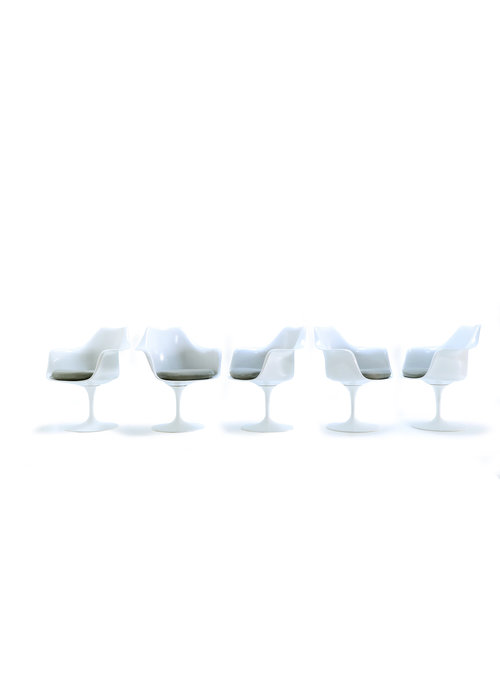 Set of tulip chairs