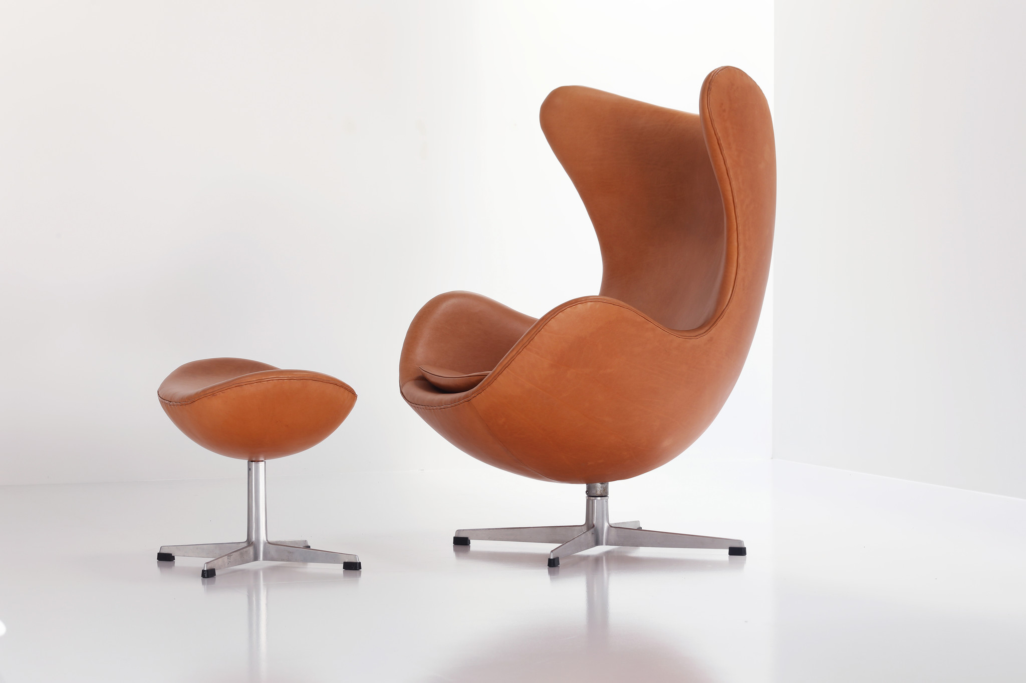 Egg Chair door Arne Jacobsen voor Fritz Hansen