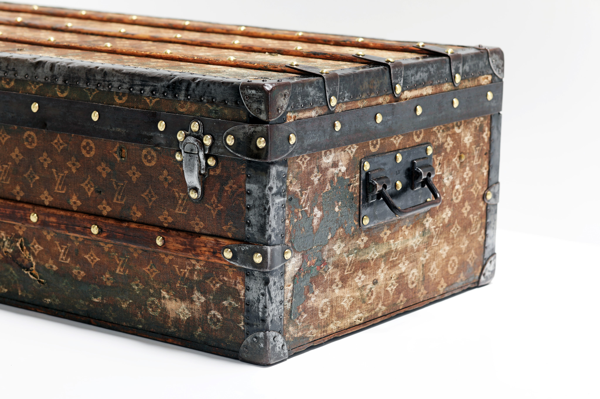 Rare Louis Vuitton trunk, 1896
