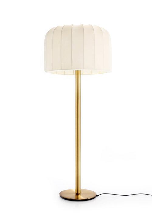 Brass floor lamp, 1970s