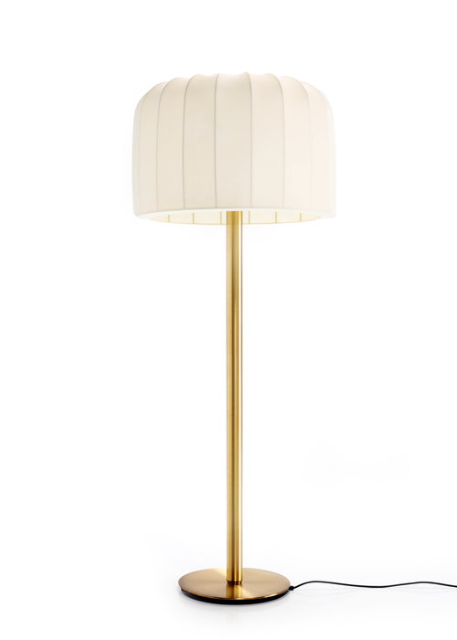Messing vloerlamp, 1970's