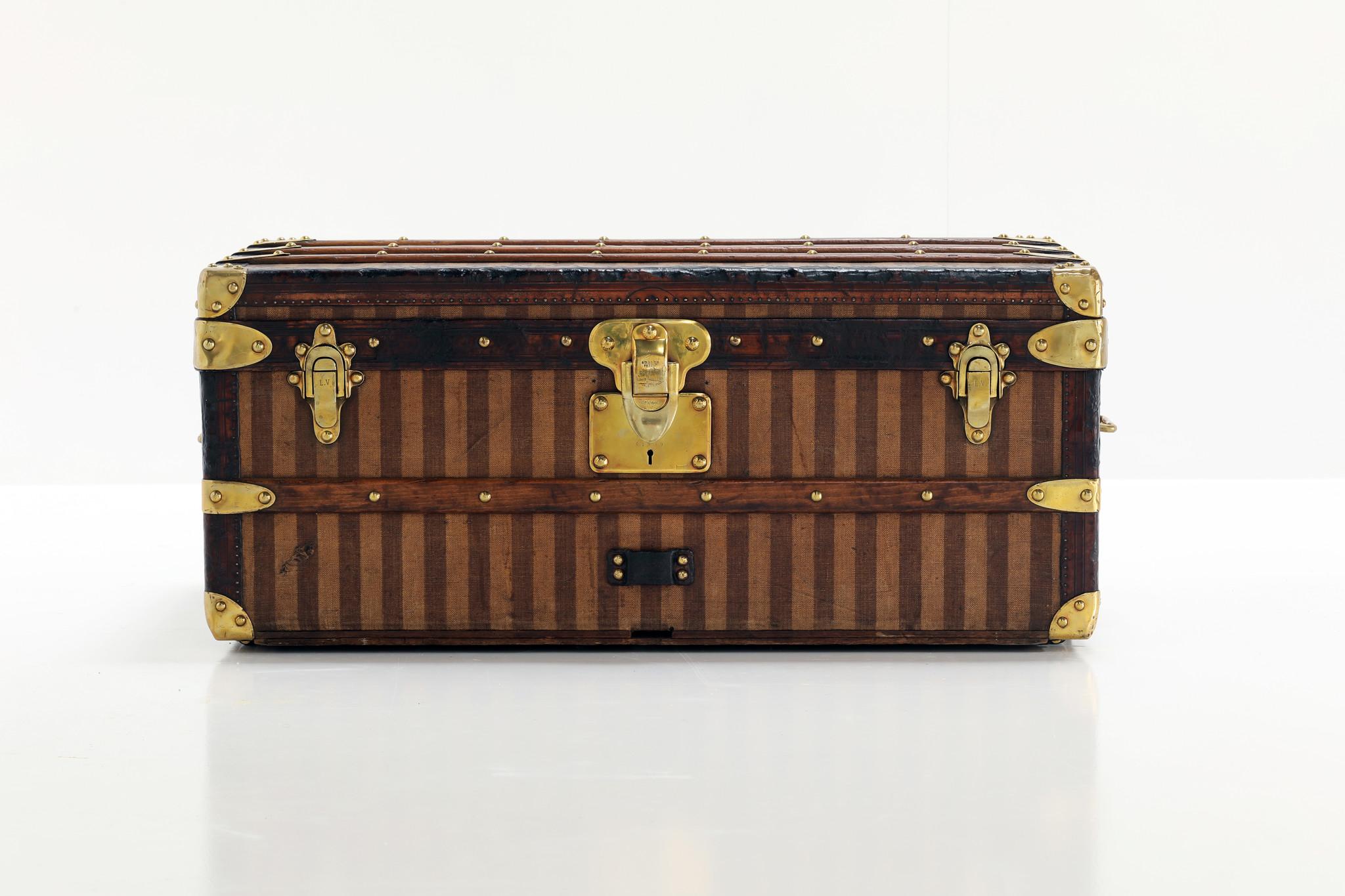 Antique Louis Vuitton trunk